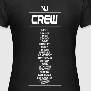 Girlshirt NJ Crew black - Frauen T-Shirt
