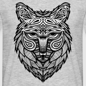wolf head - T-shirt Homme