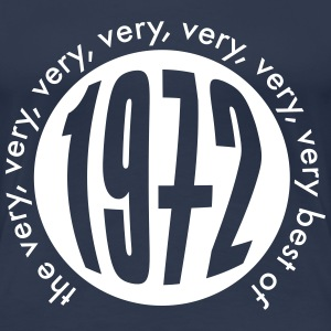 Very very very best of 1972 T-Shirts - Frauen Premium T-Shirt