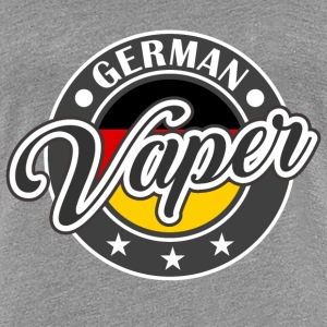 Vape Design German Vaper  T-Shirts - Frauen Premium T-Shirt
