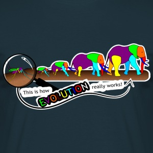 Evolution M-2-E - DIGITAL T-Shirts - Männer T-Shirt
