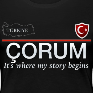 Çorum - Frauen Premium T-Shirt