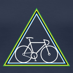 Hipster Fixie - Triangle - Women's Premium T-Shirt