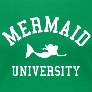 Mermaid University T-Shirts - Frauen Premium T-Shirt
