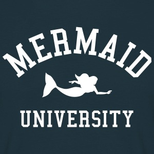 Mermaid University T-skjorter - T-skjorte for menn