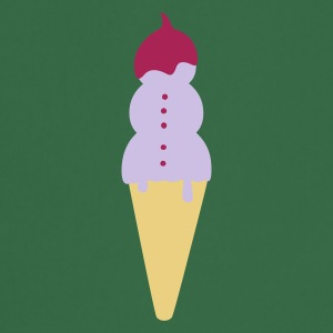 :: snowman ice cream :-: - Tablier de cuisine