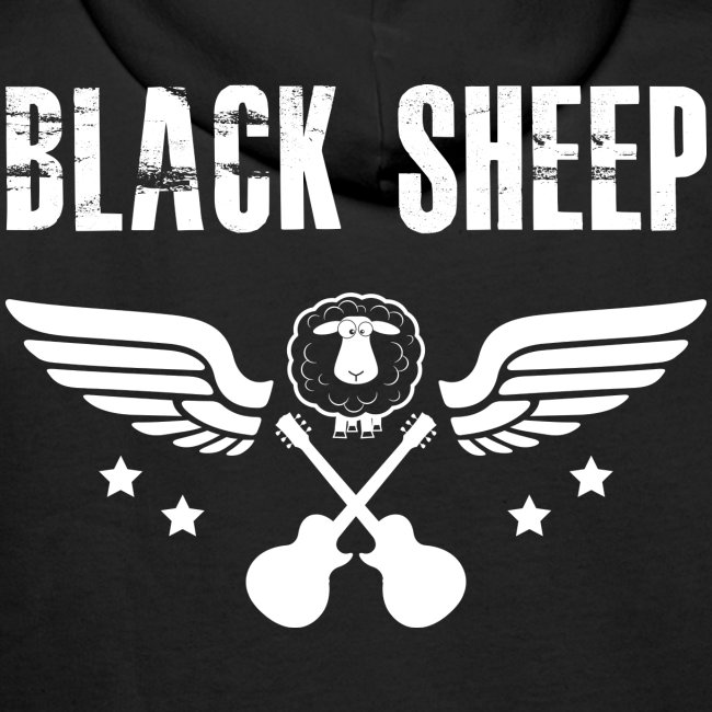 Black Sheep Wings Kapuzenpullover Männer Premium