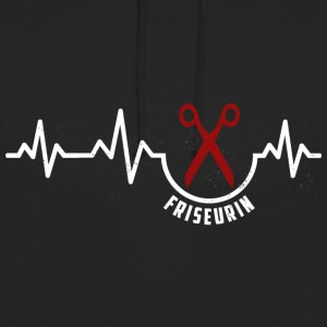 Heartbeat-Friseurin T-Shirt Pullover & Hoodies - Unisex Hoodie