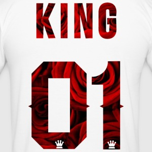 King Partnershirt - Männer Slim Fit T-Shirt