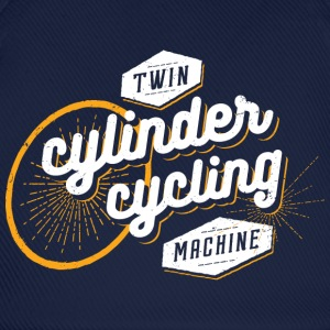 Twin cylinder cycling machine - Baseball Cap