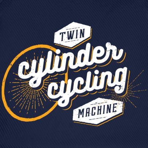 Twin cylinder cycling machine