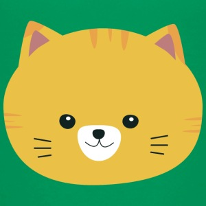 Cute tabby with yellow fur Shirts - Teenage Premium T-Shirt