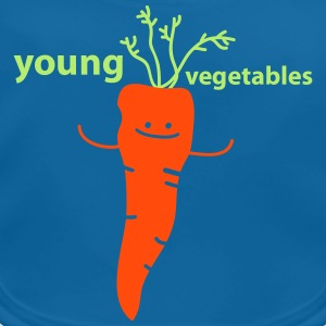 young vegetables Babyhaklapp - Ekologisk babyhaklapp