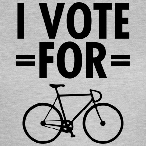 I Vote For Bicycle T-shirts - Vrouwen T-shirt