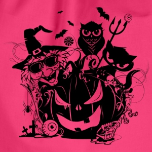 A funny Halloween party Bags & Backpacks - Drawstring Bag