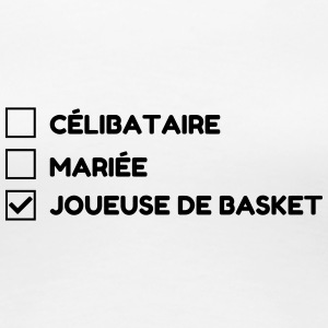 Basketball - Basket ball - Basket-ball - Baskette Tee shirts - T-shirt Premium Femme