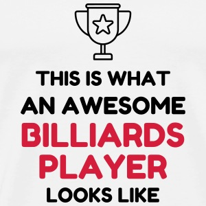 Billiards - Snooker - Billard - Sport - Winner  T-Shirts - Men's Premium T-Shirt
