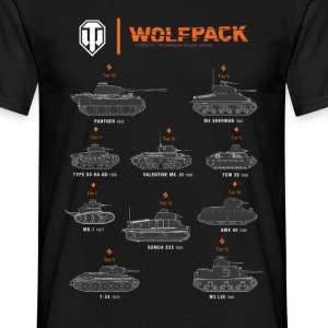 World of Tanks Wolfpack - Maglietta da uomo