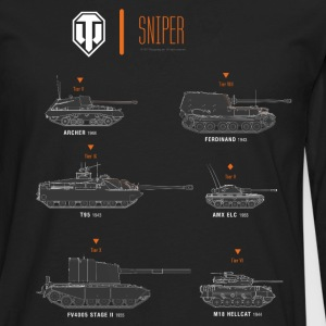 World of Tanks Sniper - Men's Premium Longsleeve Shirt