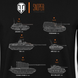 World of Tanks Sniper - Men's Sweatshirt