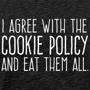Cookie Policy - Männer Premium T-Shirt