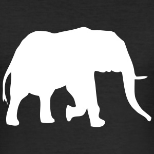 Elefant - Elephant T-Shirts - Männer Slim Fit T-Shirt
