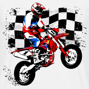 Supermoto Racing Tee shirts - T-shirt Homme