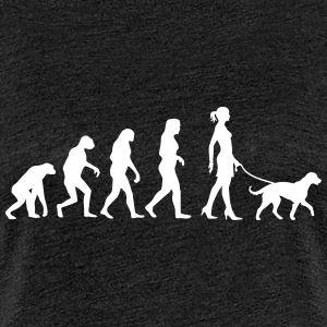 Evolution - Big Dog - Frauen Premium T-Shirt