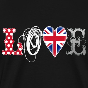 Love UK White - Männer Premium T-Shirt
