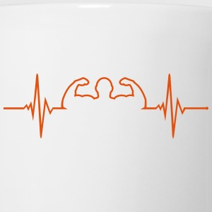 Pulse - Bodybuilder Mugs & Drinkware - Mug