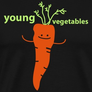 young vegetables - Männer Premium T-Shirt