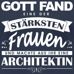 Architektin  T-Shirts - Frauen Premium T-Shirt