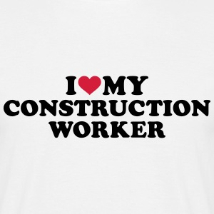 Construction worker T-Shirts - Männer T-Shirt