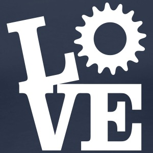 Love Bicycles T-Shirts - Frauen Premium T-Shirt