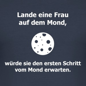 Befraute Mondmission? - Männer Slim Fit T-Shirt