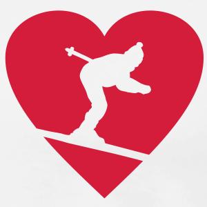 I love Skiing (einfarbig)
