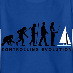 evolution Modellbauschiff_10_2016 T-Shirts - Kinder T-Shirt