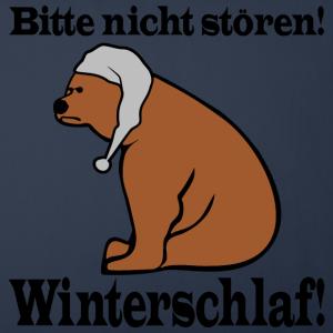 """Shirts mit Tier-Motiv """"Bär hält Winterschlaf"""""""