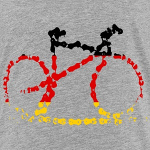 Germany Bike Chain Print  - Kinder Premium T-Shirt