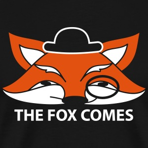 the fox comes T-shirts - Mannen Premium T-shirt