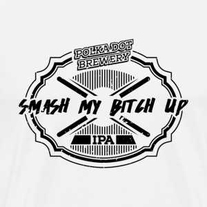 Polkadot Brewery - Smash my Bitch Up - Premium-T-shirt herr