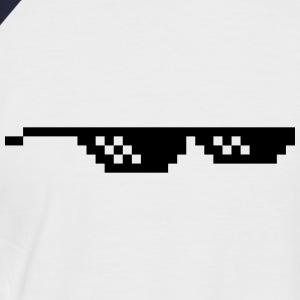 lunette pixel Tee shirts - T-shirt baseball manches courtes Homme