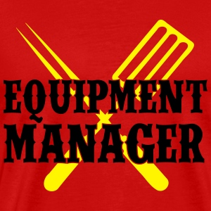 Equipment Manager Grillbesteck - Männer Premium T-Shirt
