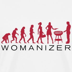 Evolution Womanizer BBQ - Männer Premium T-Shirt