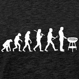 Evolution Mens BBQ - Männer Premium T-Shirt