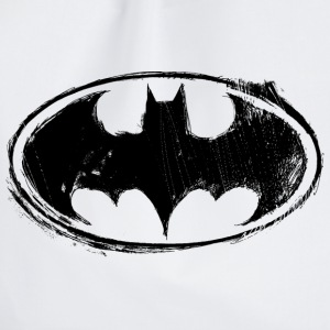 Batman Logo black retro - Turnbeutel