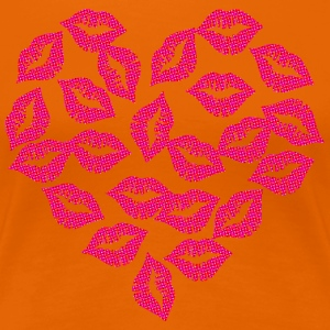 Kisses - Frauen Premium T-Shirt