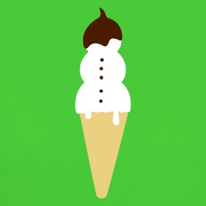 :: snowman ice cream :-: - Women's Organic T-shirt