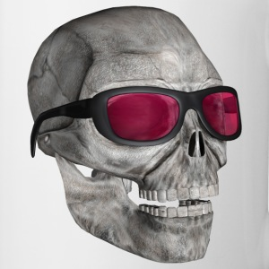 :: skull with sunglasses 3000 :-: - Tazza