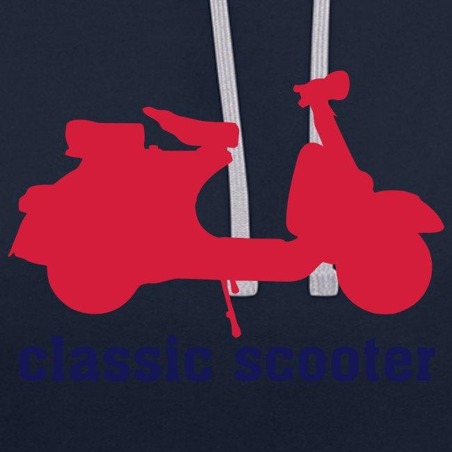 Sudadera con capucha Classic Scooter